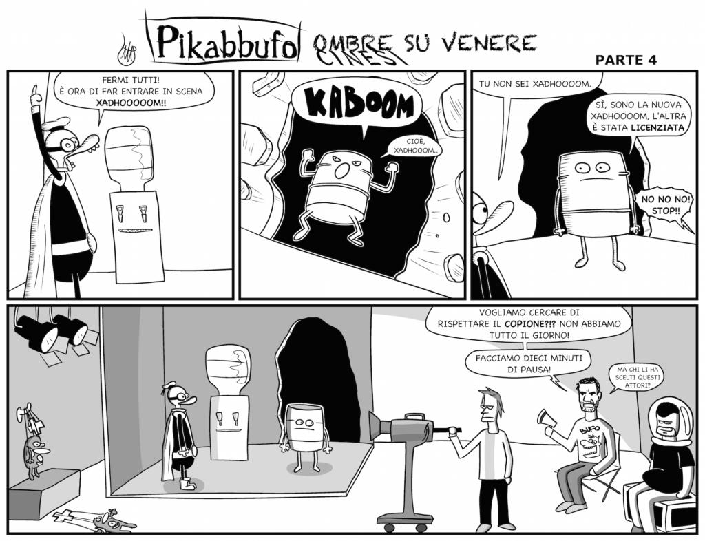 Pikabbufo 23 Ombre Cinesi su Venere 4 di Jacopo Mistura
