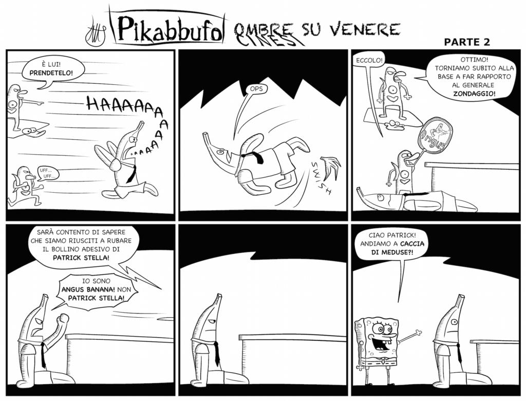 Pikabbufo 21 Ombre Cinesi su Venere 2 di Jacopo Mistura