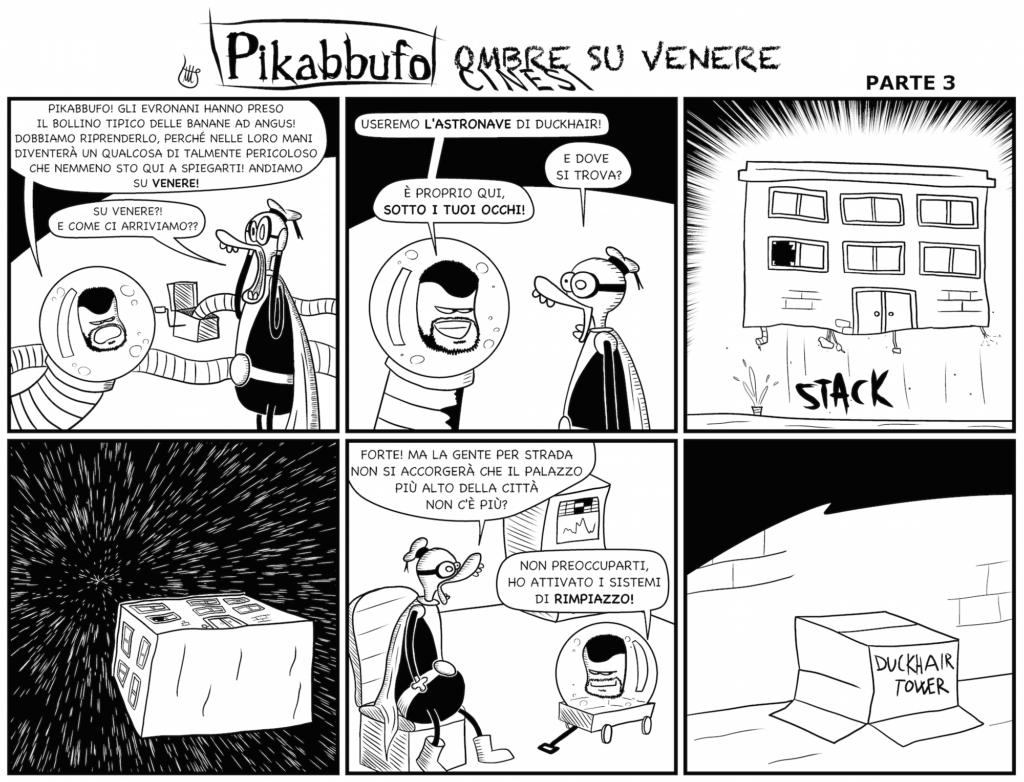 Pikabbufo 22 Ombre Cinesi su Venere 3 di Jacopo Mistura
