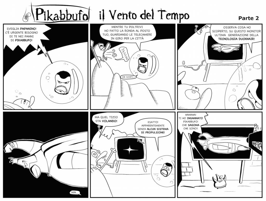 Pikabbufo 10 Il Vento del Tempo 2 di Jacopo Mistura