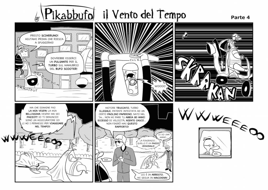 Pikabbufo 12 Il Vento del Tempo 4 di Jacopo Mistura