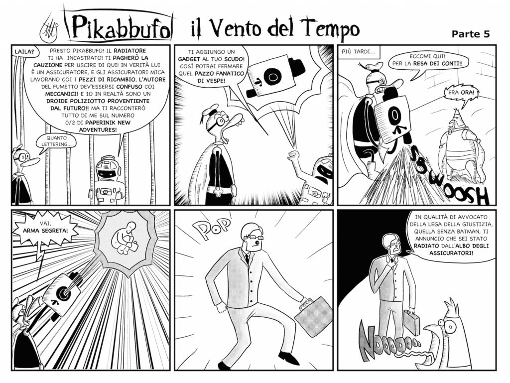 Pikabbufo 13 Il Vento del Tempo 5 di Jacopo Mistura